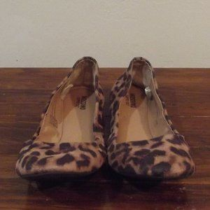 Mossimo Supply Co. Lepard Print Loafers Size 6
